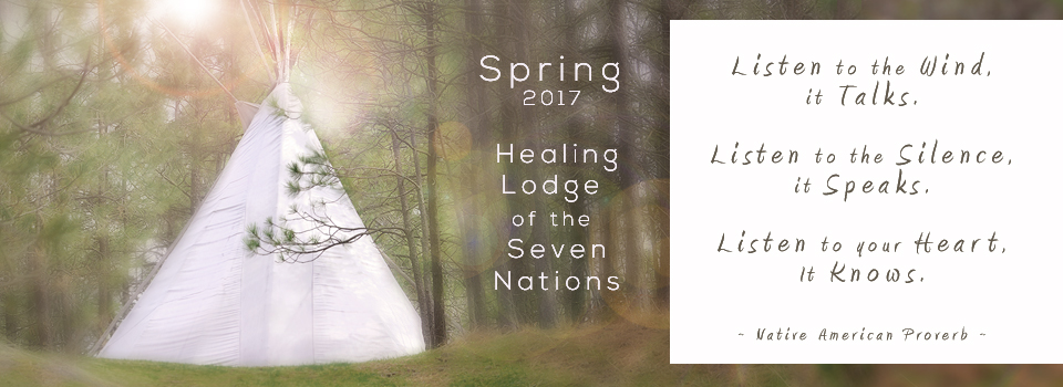 Tipi at the Healing Lodge of the Seven Nations