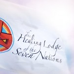 Healing Lodge Flag